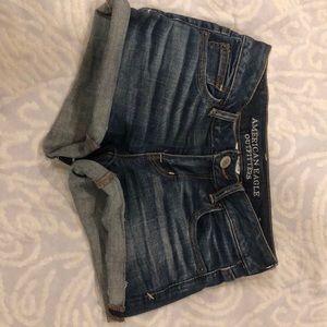 Medium Wash American Eagle Shorts
